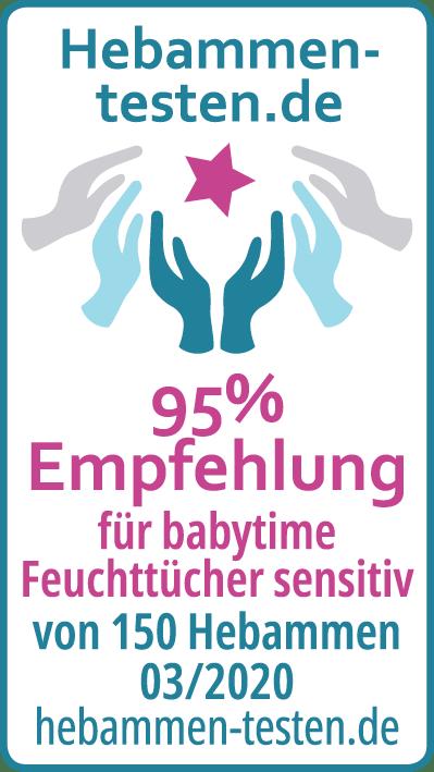 babytime Feuchttücher senitiv Siegel