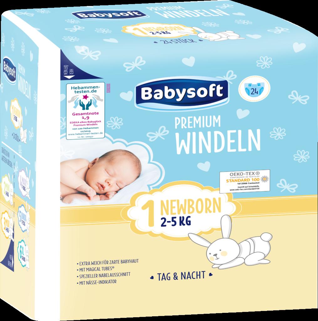 babysoft Größe 1 Produktbild