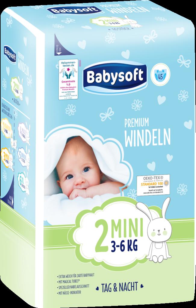 babysoft größe 2 Produktbild