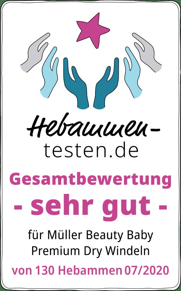 Siegel Müller Windeln 2020